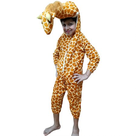 Kids Giraffe Fancy Dress Costume on Rent.