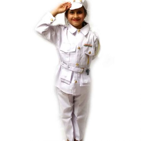 Indian Navy Costume on Rent