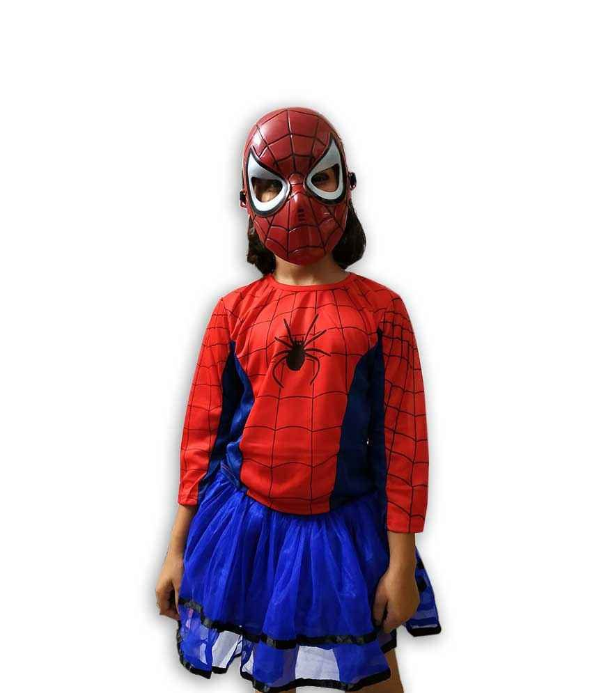 Hire Spider Girl Costume
